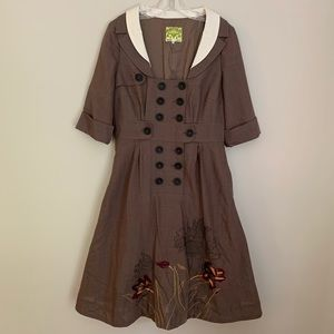 Anthropologie Dresses - Anthropologie Floreat Dress.  Rare!!